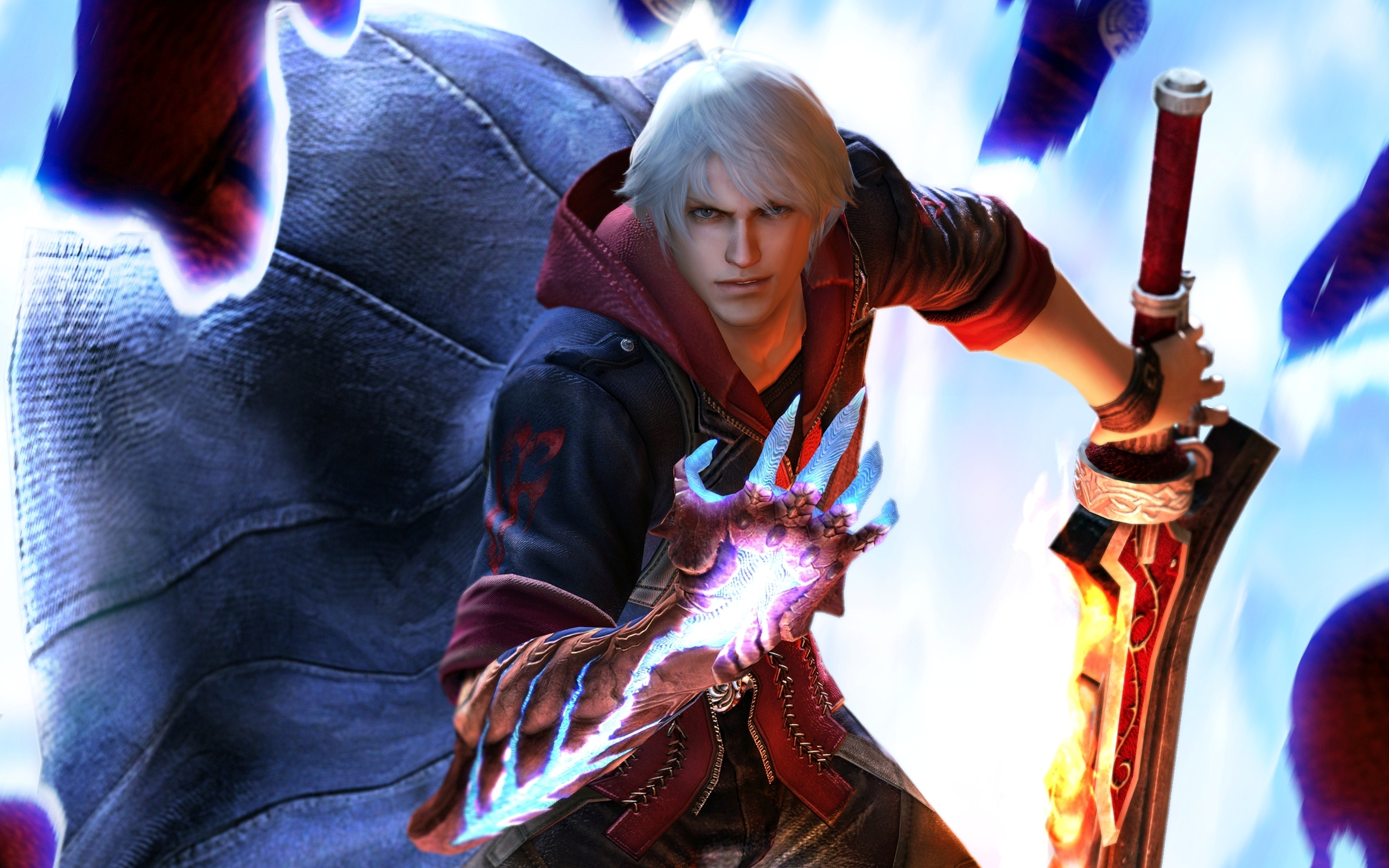 Devil May Cry 4 Fondo De Pantalla Hd Fondo De Escritorio