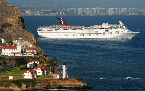 Vehicles Cruise Ship Cruise Ships Carnival Elation HD Wallpaper | Background Image