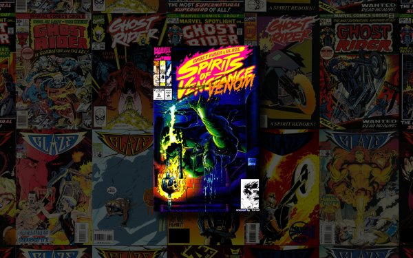 Comics Ghost Rider/blaze: Spirits Of Vengeance Ghost Rider Veneno Fondo de pantalla HD | Fondo de Escritorio