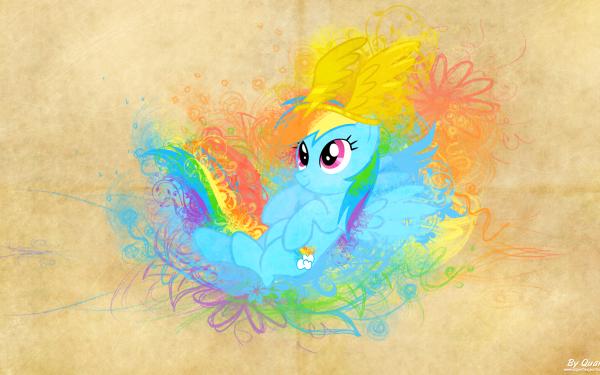 Series de Televisión My Little Pony: La magia de la amistad My Little Pony Rainbow Dash Vector Fondo de pantalla HD | Fondo de Escritorio