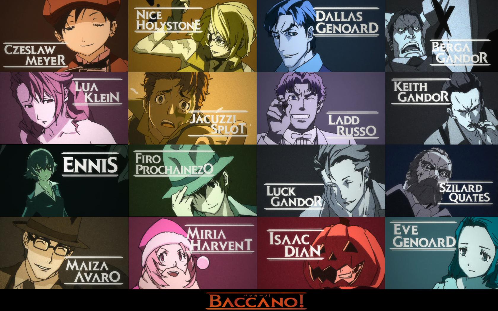 baccano computer wallpapers desktop backgrounds