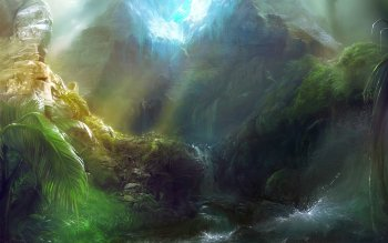 Fantasy - Landschaft Wallpapers and Backgrounds ID : 252652