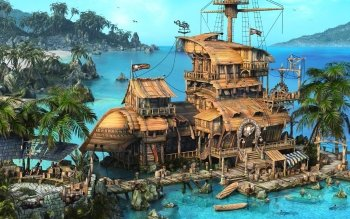 Fantasy - Pirate Wallpapers and Backgrounds ID : 252940