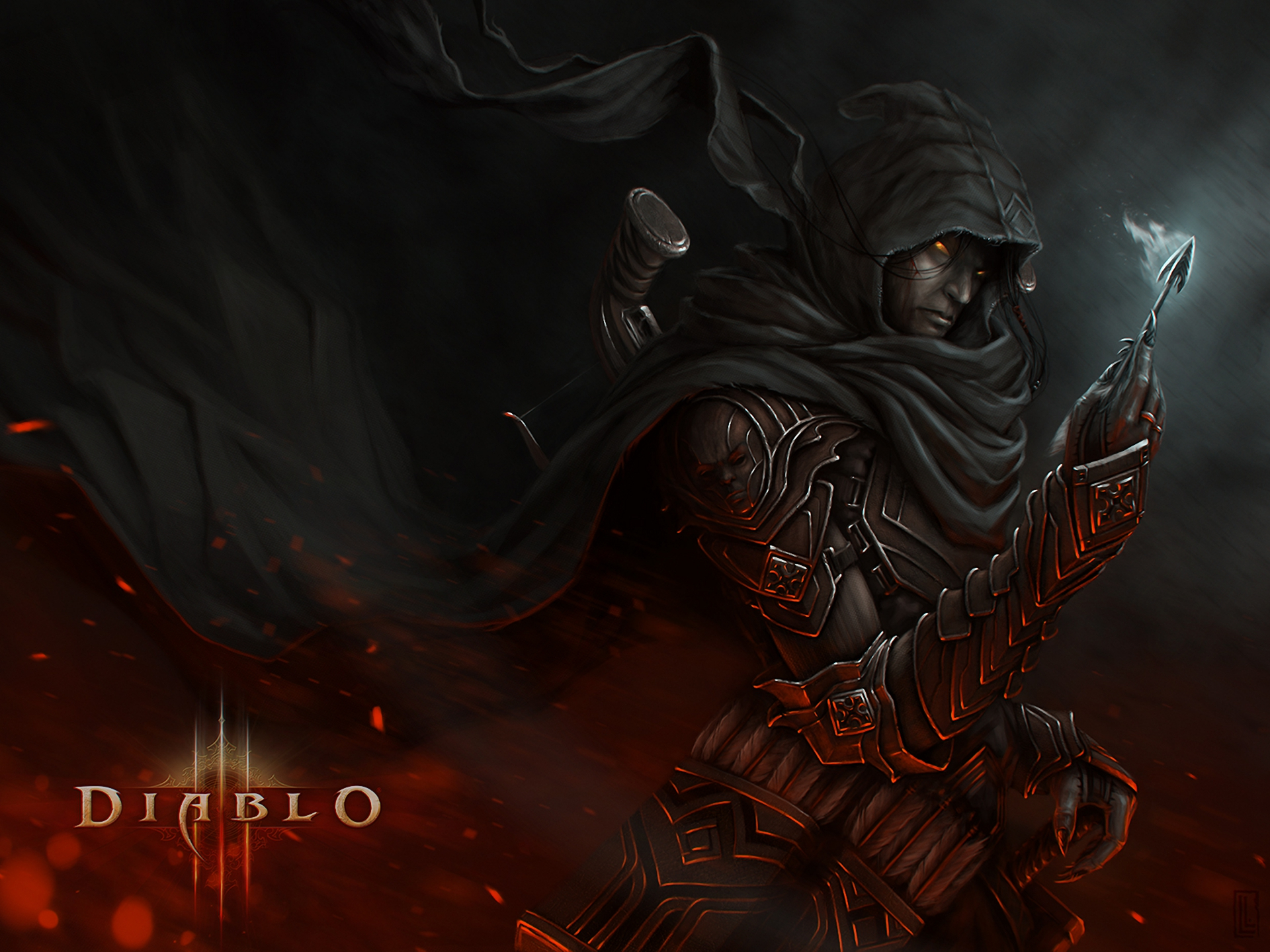 Demon Hunter Full HD Wallpaper and Background Image ...