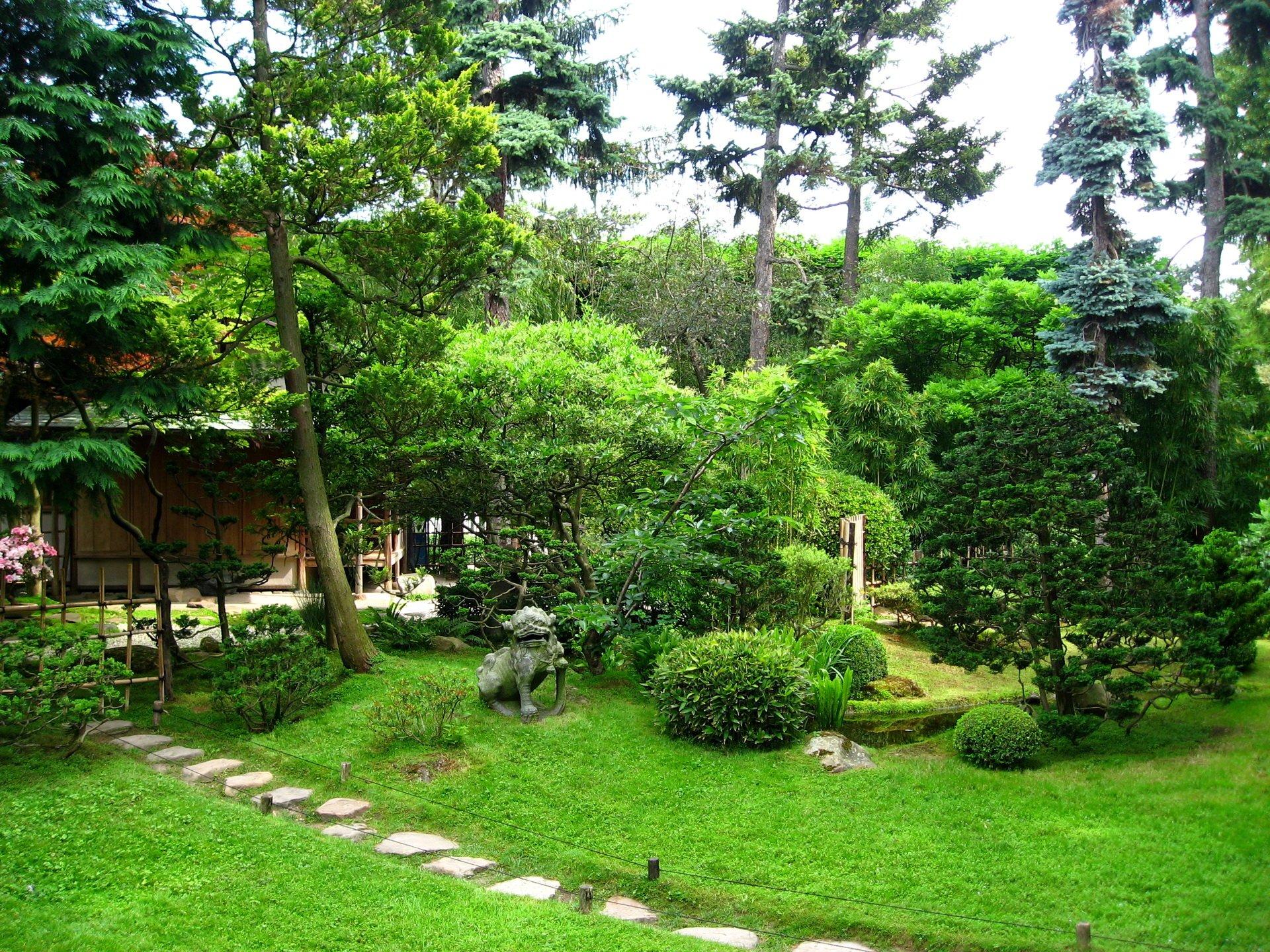 Jardin full hd fond d 39 cran and arri re plan 1920x1440 for Terrasse jardin anglais