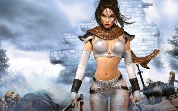 Fantasy - Women Warrior Wallpapers and Backgrounds ID : 256740