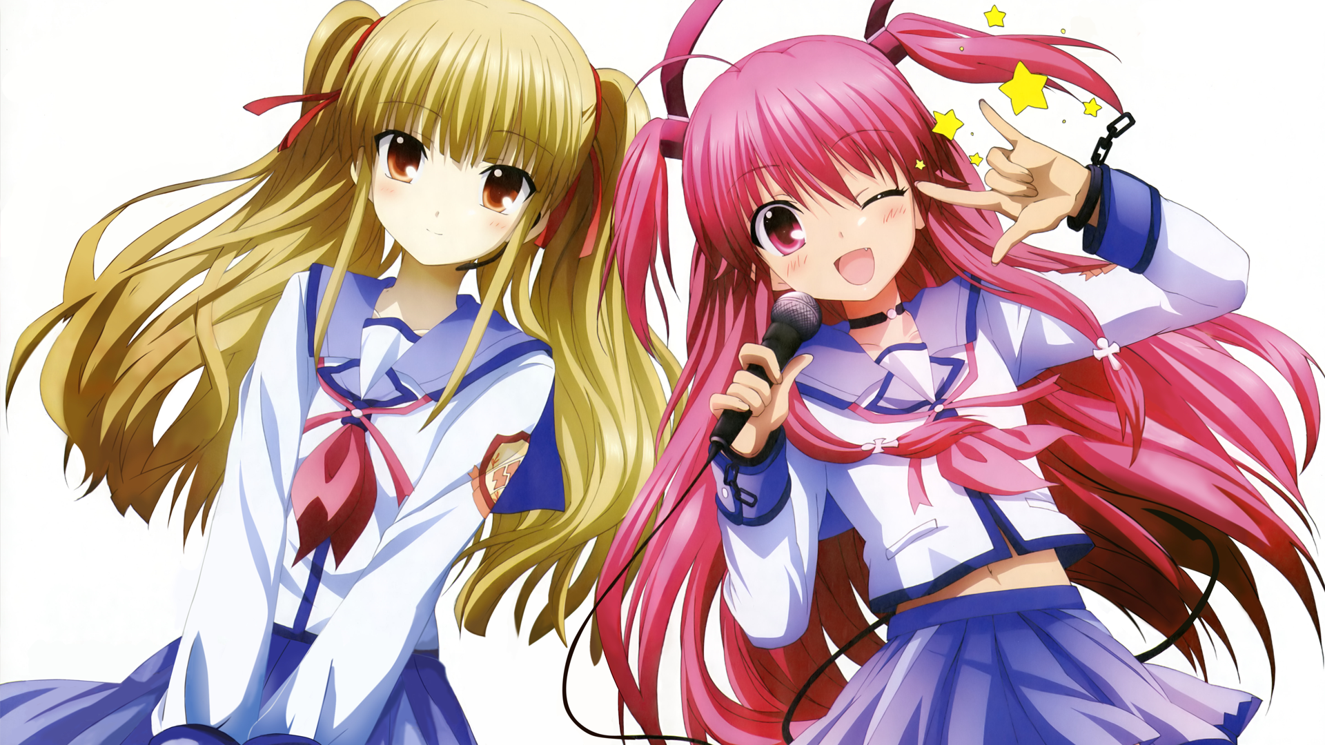 Angel beats full hd wallpaper and background image 1920x1080 anime angel beats yui angel beats yusa angel beats voltagebd Gallery