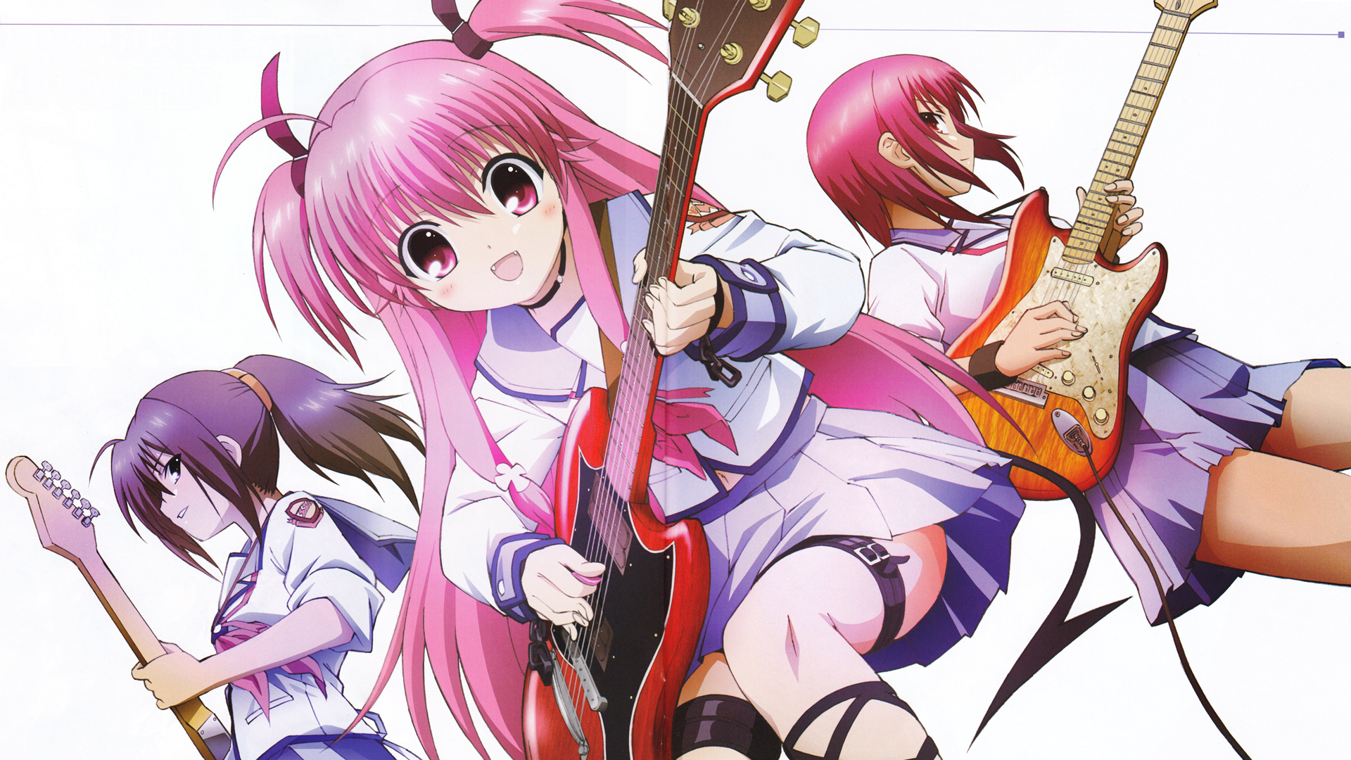 Angel beats full hd wallpaper and background image 1920x1080 yui angel beats masami iwasawa hisako angel voltagebd