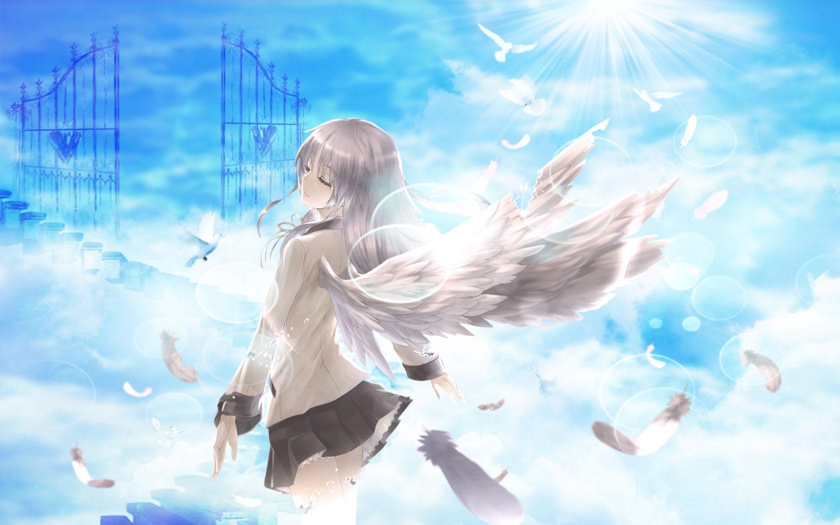 Angel beats computer wallpapers desktop backgrounds - Anime wallpaper angel ...