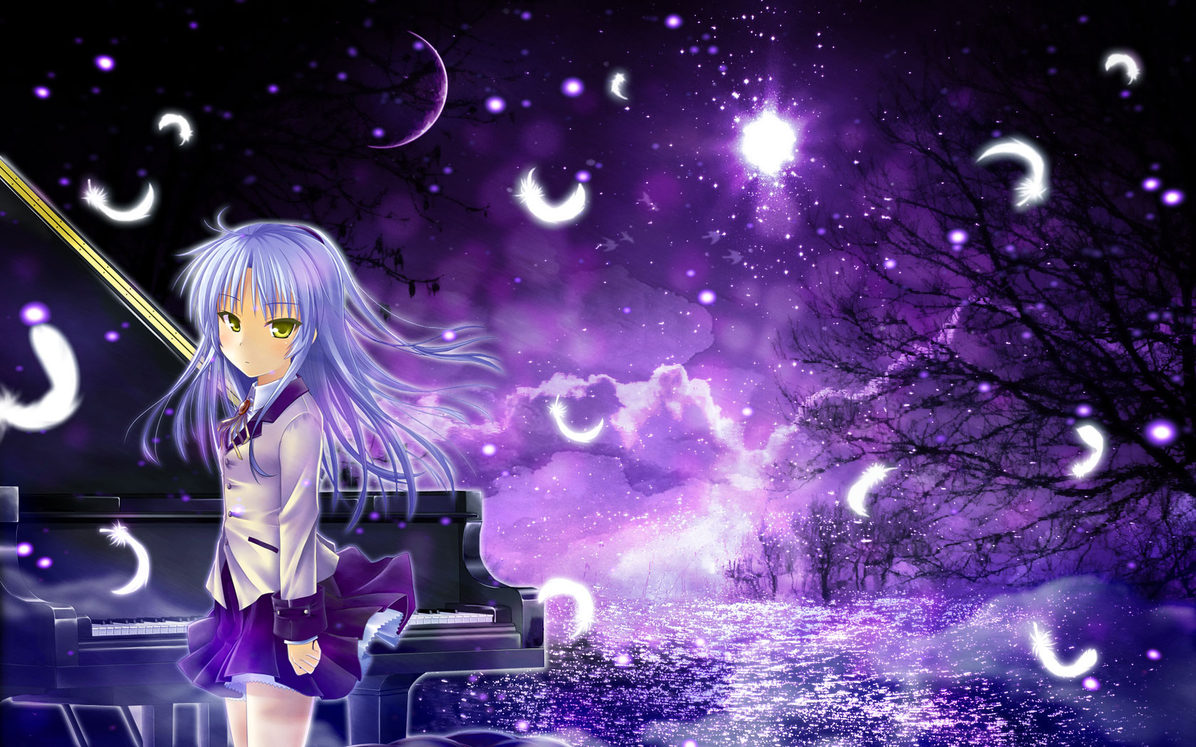 Angel Beats! Wallpaper and Background Image   1680x1050 ...