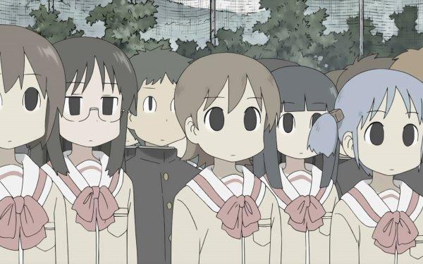 Anime Nichijō Mai Minakami Yuuko Aioi Mio Naganohara HD Wallpaper | Background Image