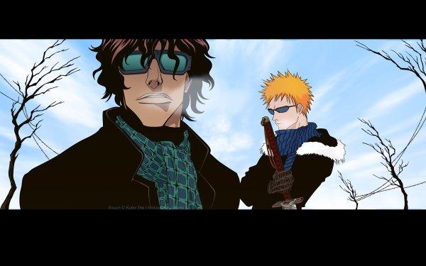 Anime Bleach Ichigo Kurosaki Yasutora Sado HD Wallpaper   Background Image