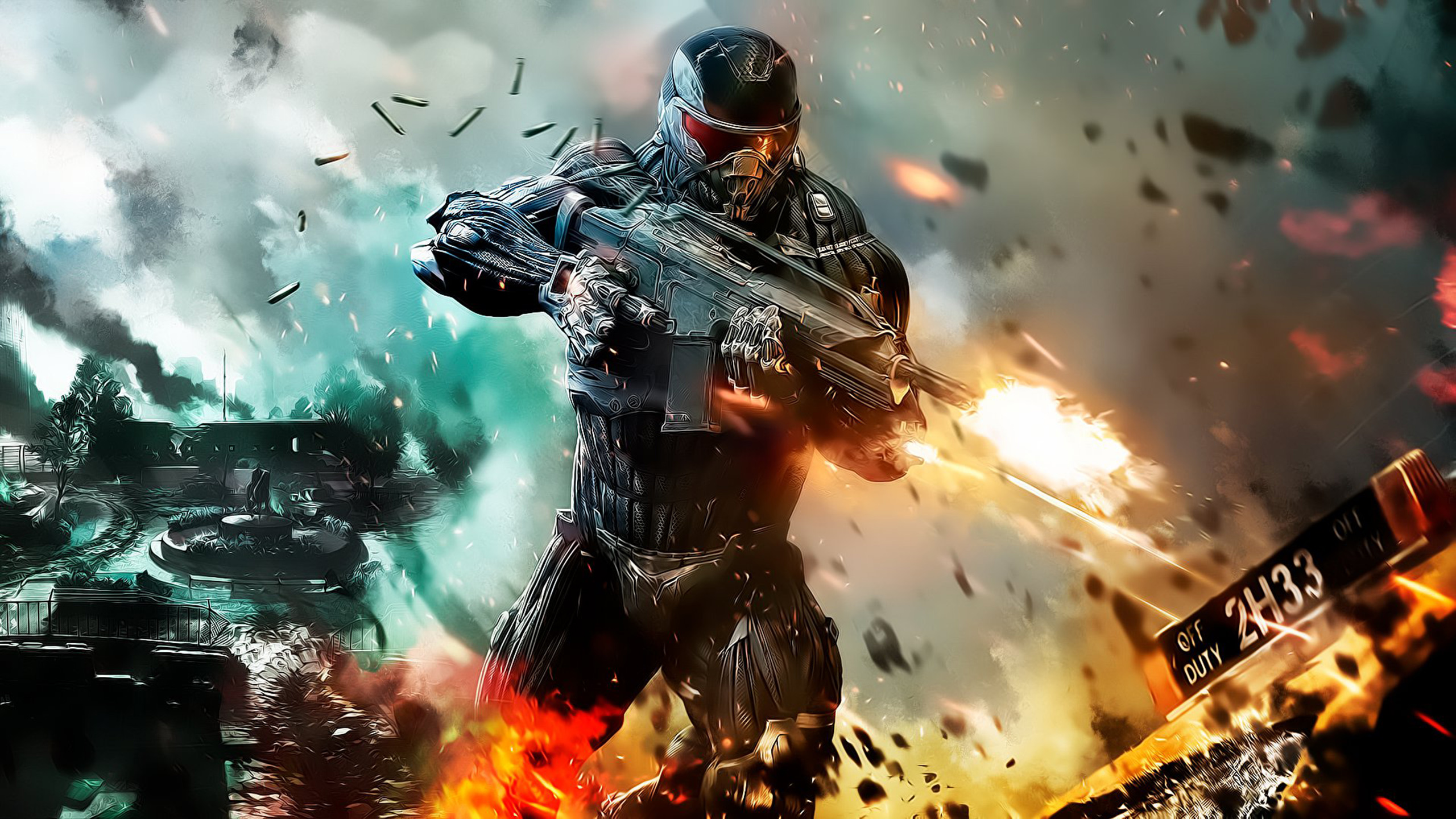 Crysis 2 Full HD Wallpaper And Background