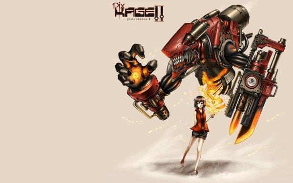 Anime Pixiv Fantasia II Robot Pixiv Shadow HD Wallpaper | Background Image