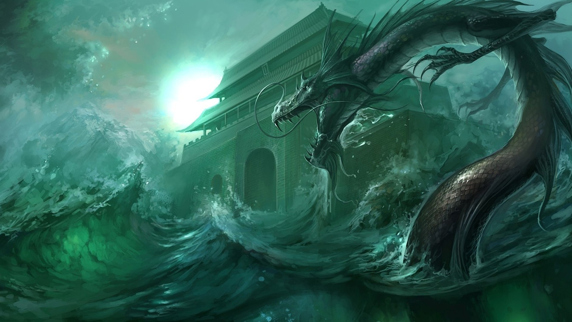 Sea Monster Full HD Wallpaper And Background Image