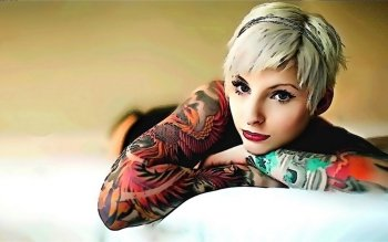 Women - Tattoo Wallpapers and Backgrounds ID : 264810