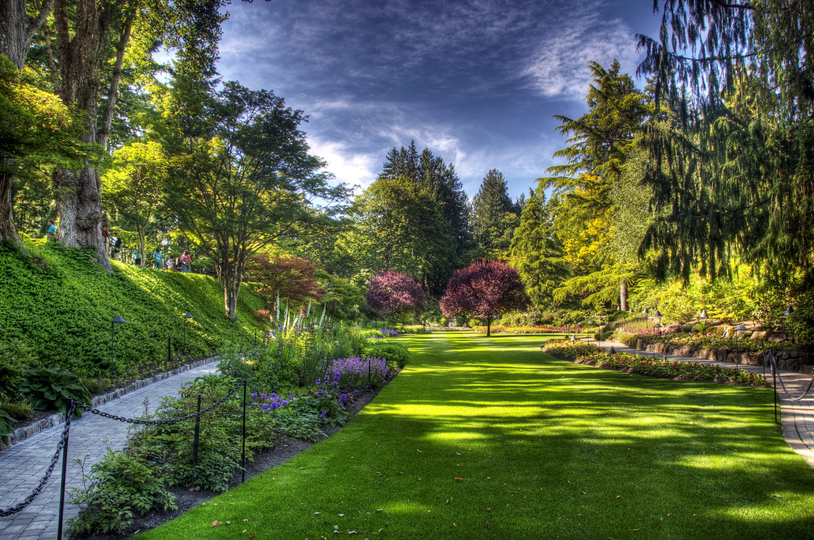Butchart gardens victoria full hd wallpaper and background 2690x1785 id 265652 for Modern keukenhout