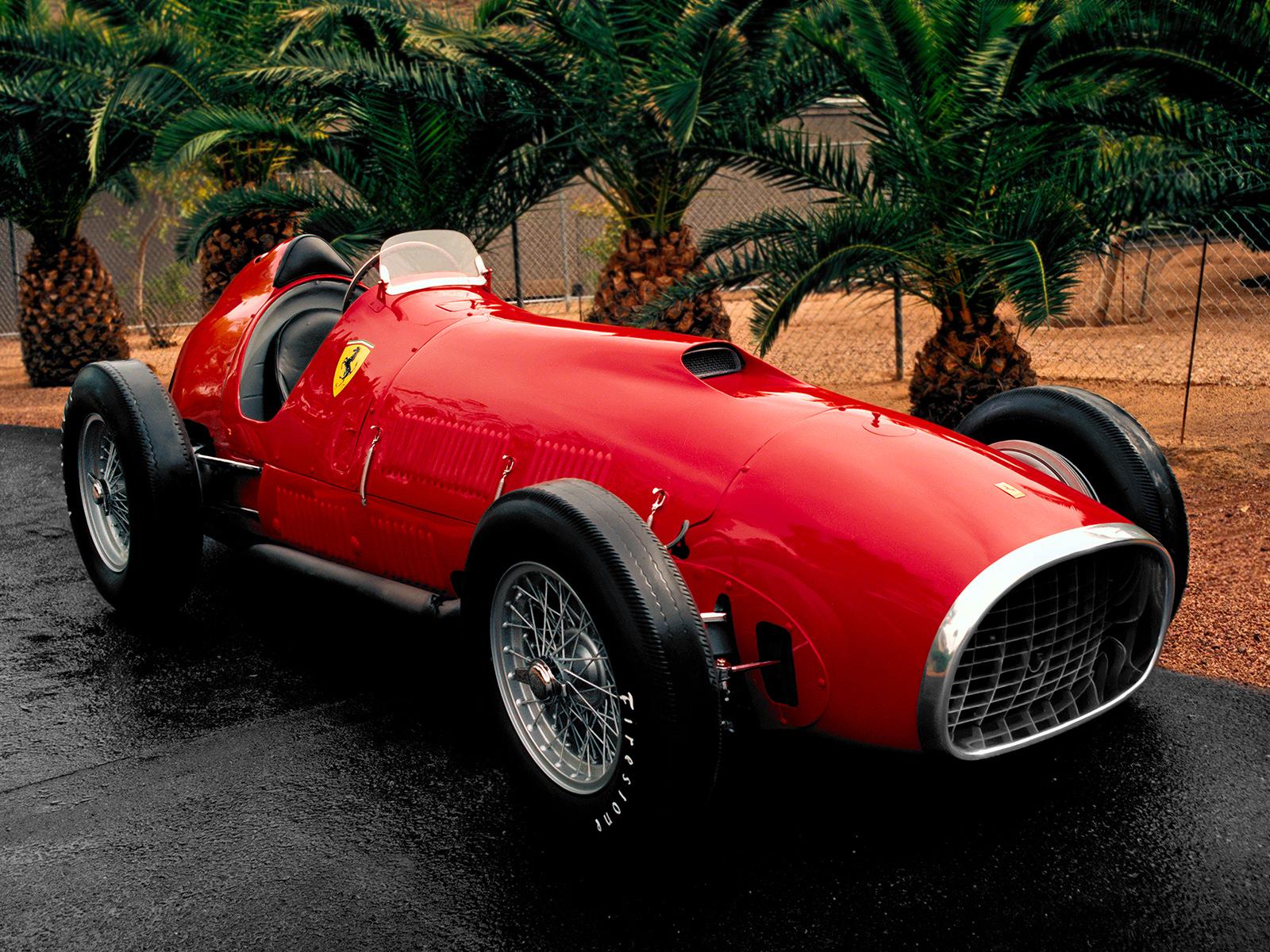 Ferrari 375 F1 1952 Wallpaper And Background Image