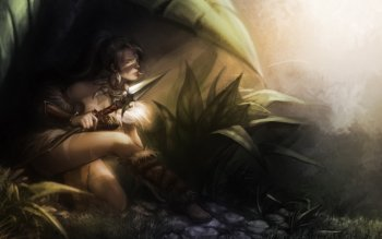 Fantasy - Women Warrior Wallpapers and Backgrounds ID : 265600