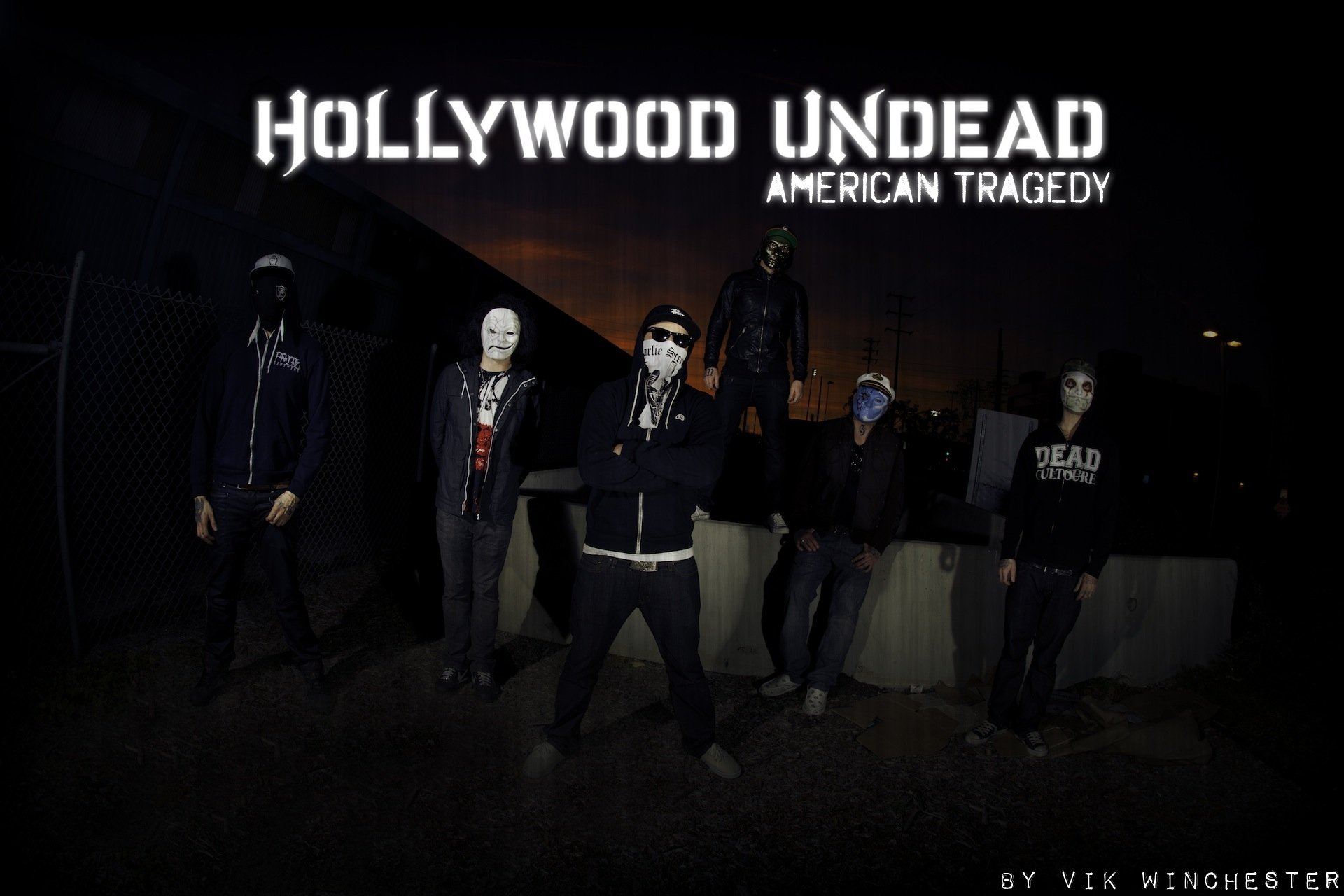 9 Hollywood Undead HD Wallpapers