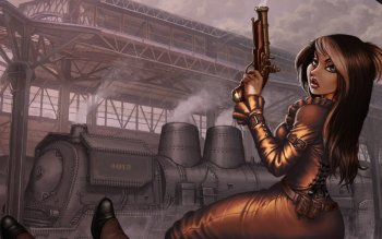 Sci Fi - Steampunk Wallpapers and Backgrounds ID : 266020
