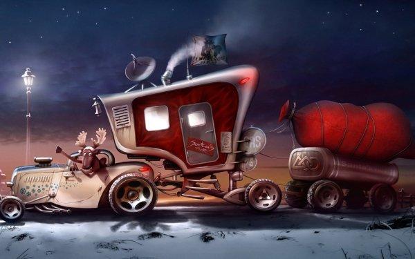 Humor Car HD Wallpaper | Background Image