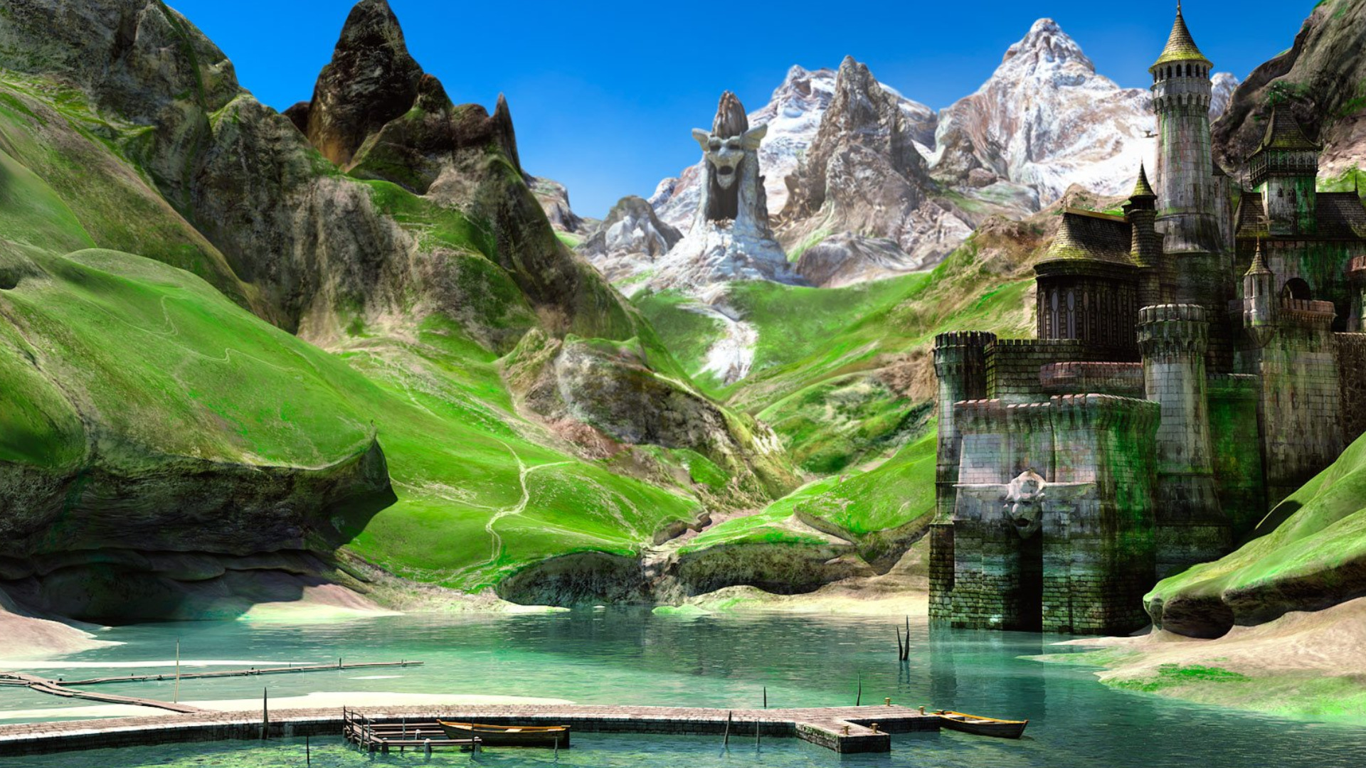 Landscape full hd wallpaper and background image for 3d outdoor wallpaper
