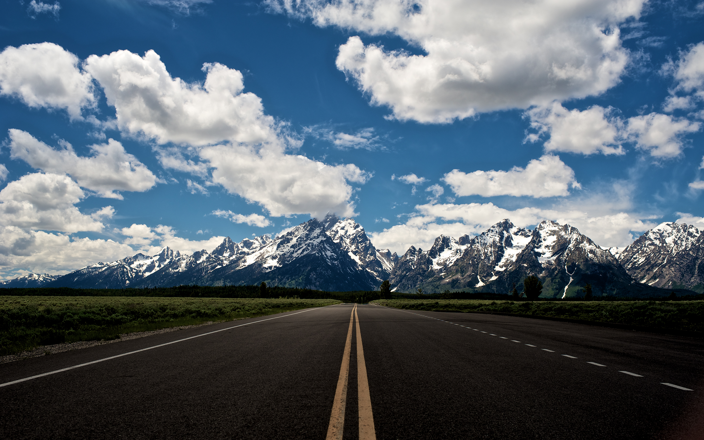 man made road wallpaper