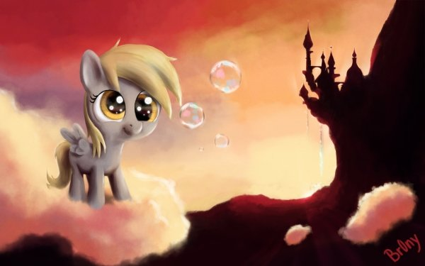 TV Show My Little Pony: Friendship is Magic My Little Pony Derpy Hooves HD Wallpaper | Background Image