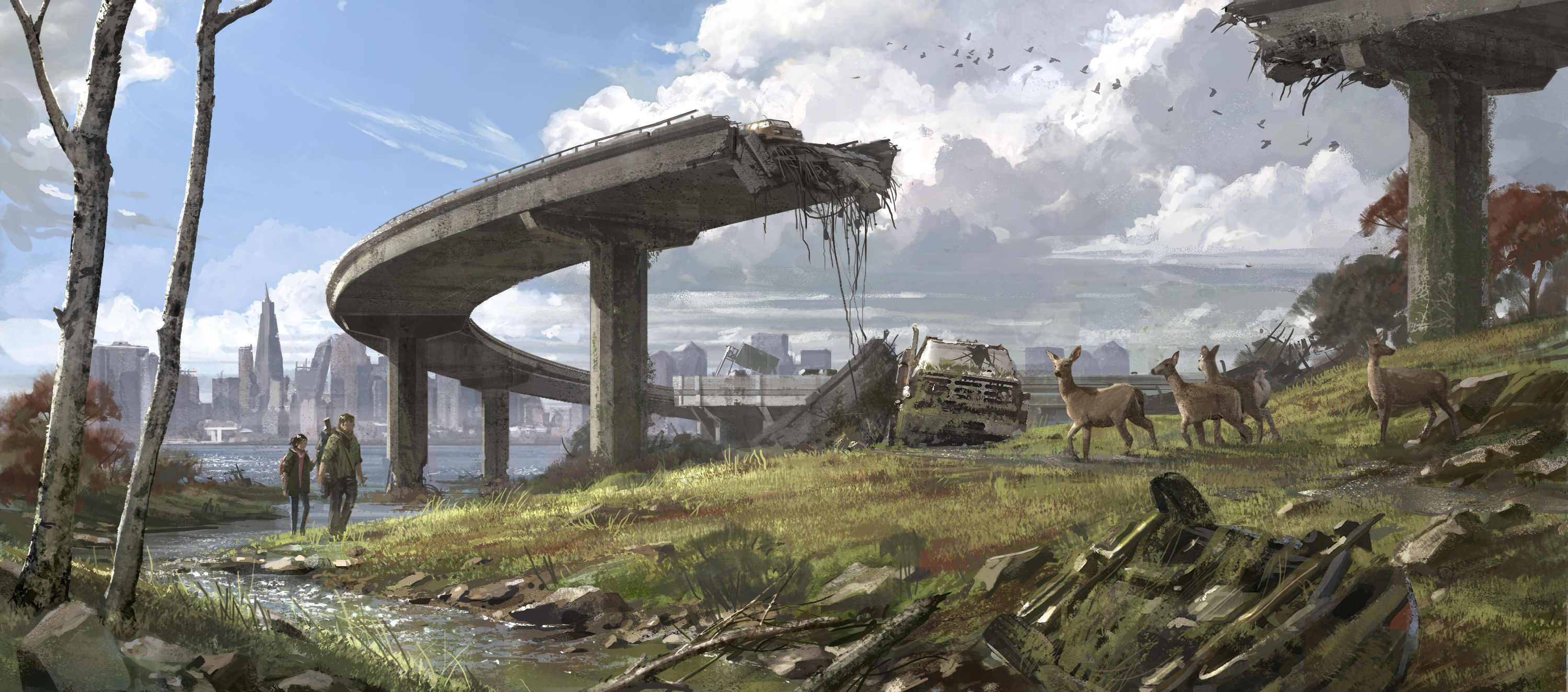 The Last Of Us Hd Wallpaper Background Image 3000x1325 Id 270040 Wallpaper Abyss