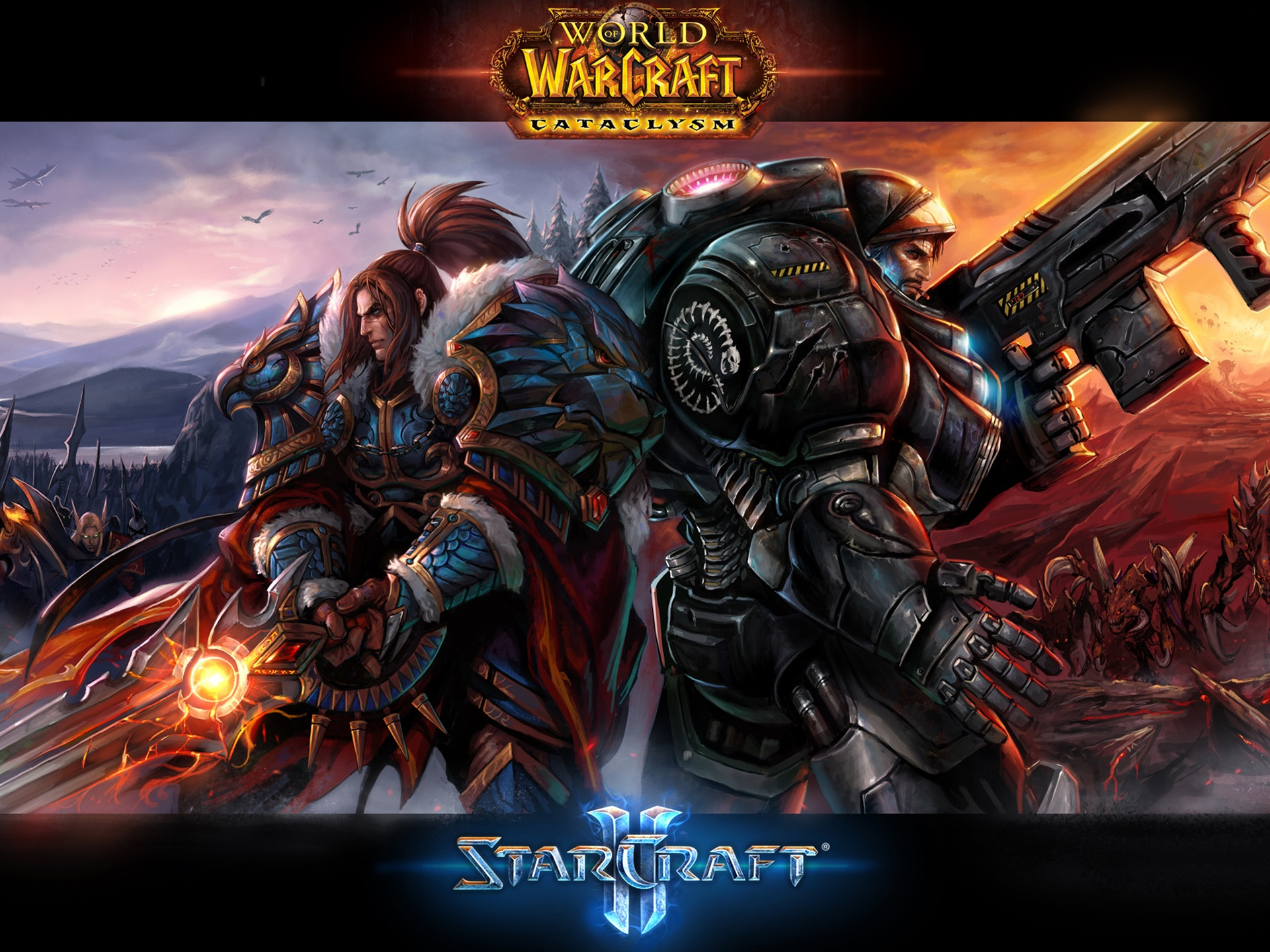 Warcraft starcraft 2 full hd wallpaper and background - Starcraft 2 wallpaper art ...