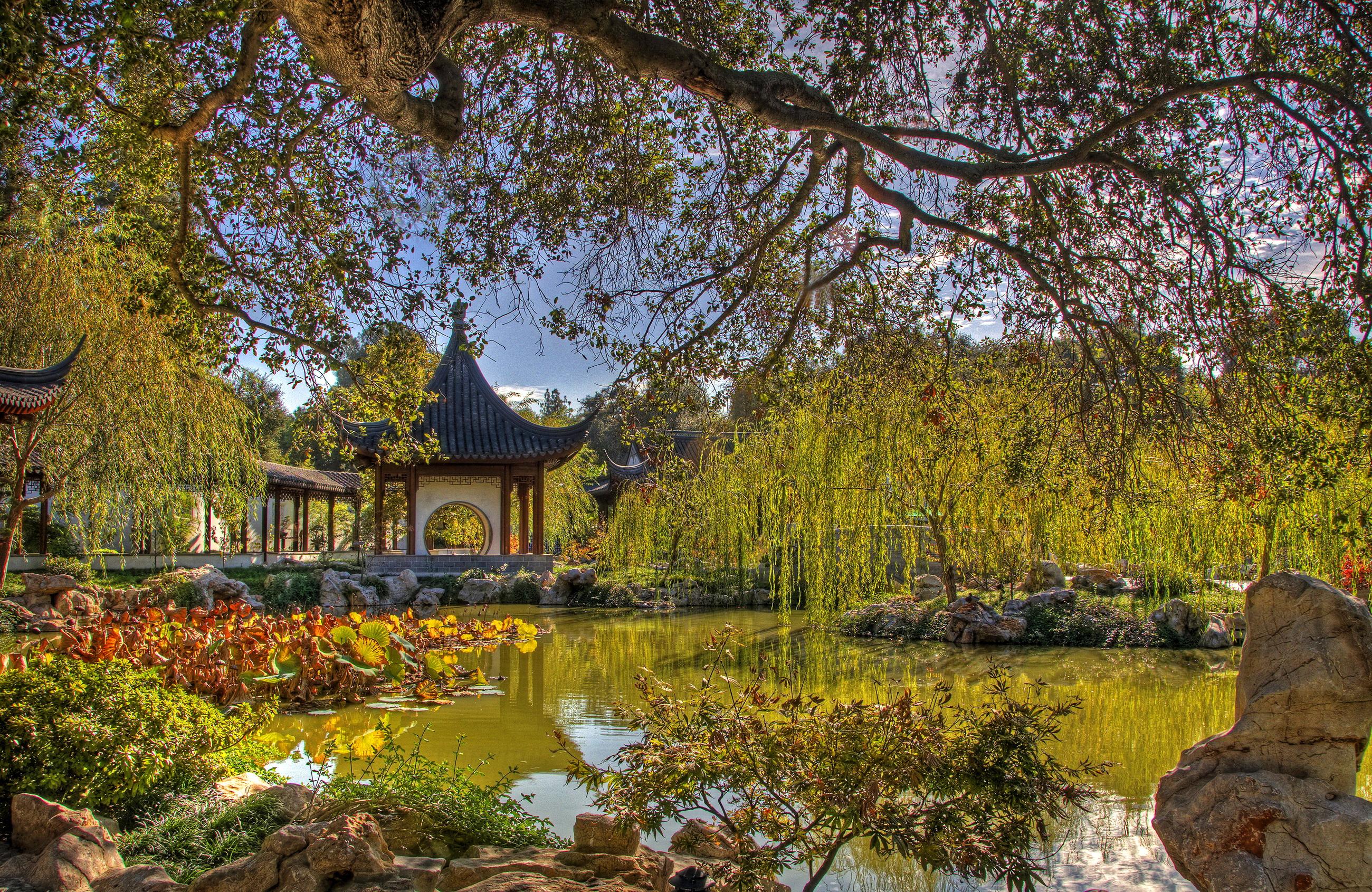 chinese garden wallpaper in hd - photo #15