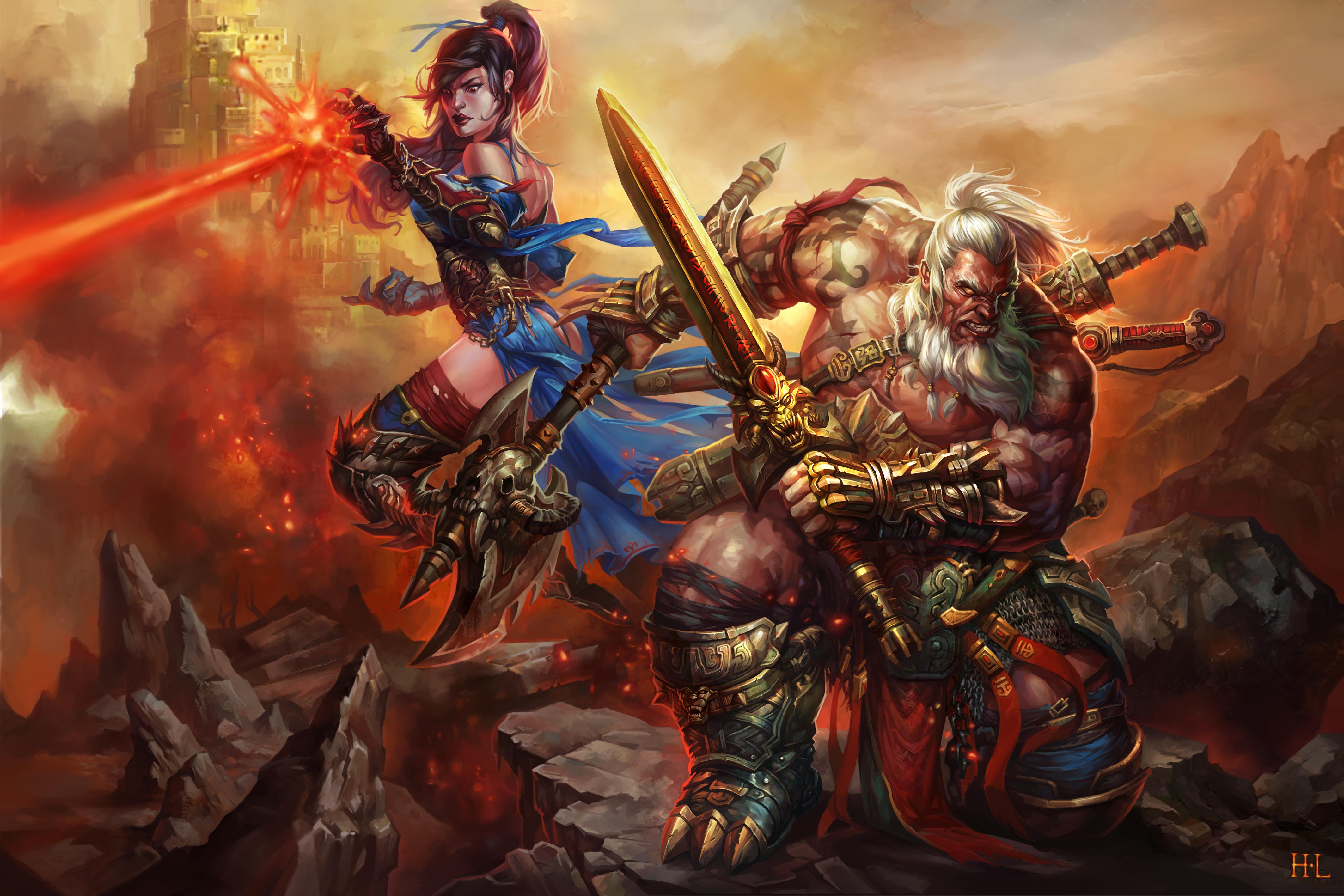 Diablo 3 Ros Wallpaper: Diablo III 4k Ultra HD Wallpaper