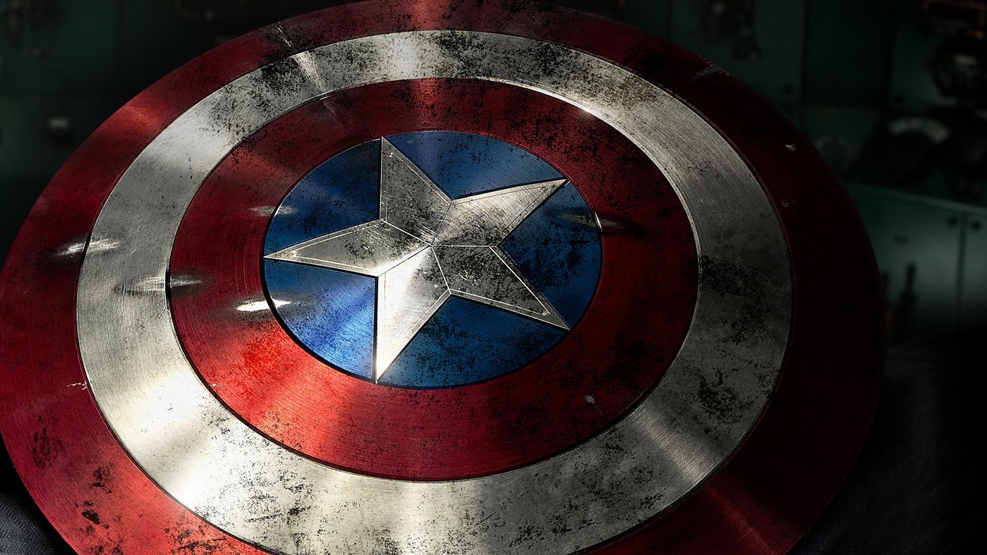 Captain america shield full hd wallpaper and background image 1920x1080 id 273680 - Image captain america ...
