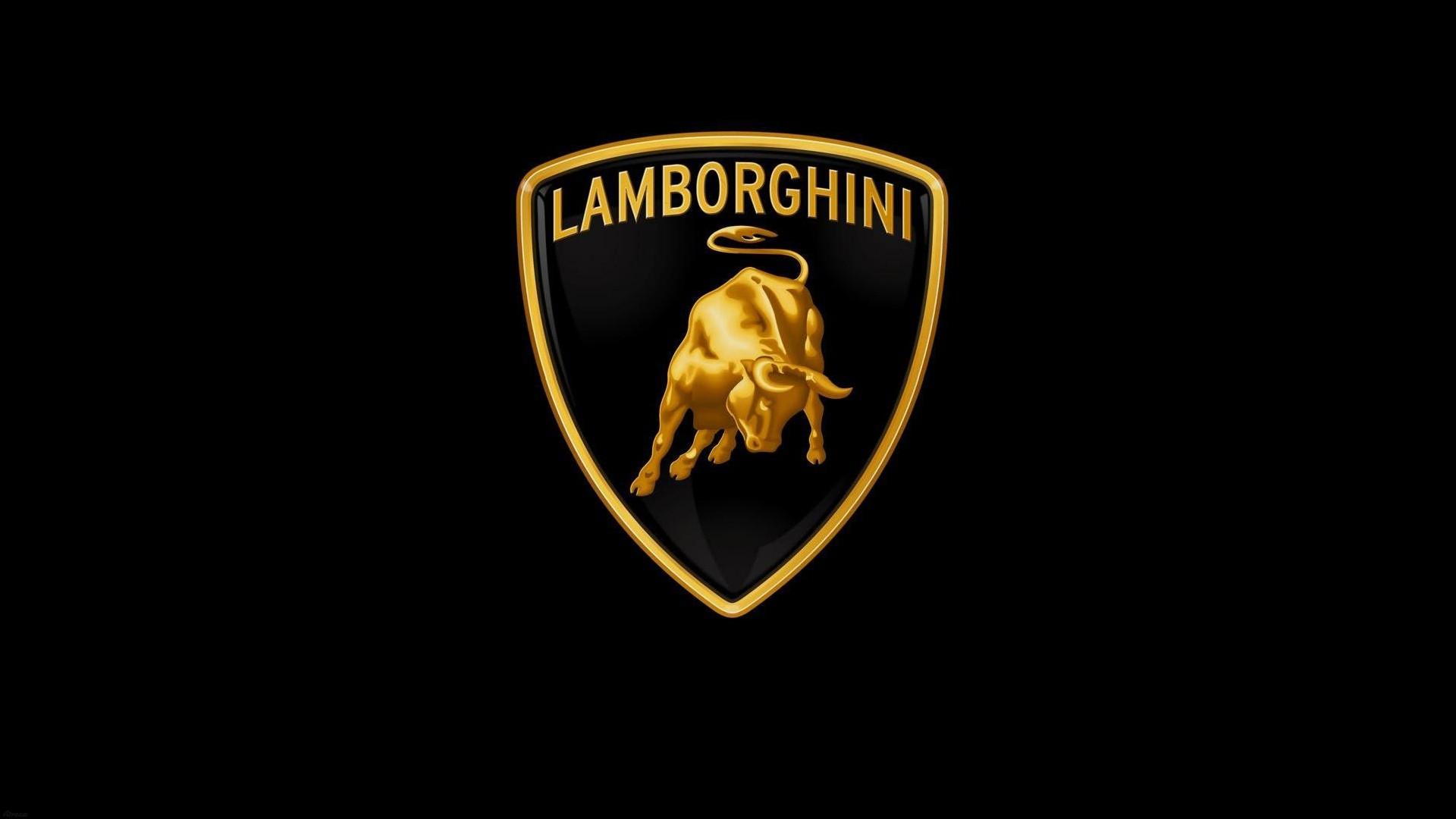 Lamborghini Logo Hd Wallpaper Achtergrond 1920x1080 Id 273980