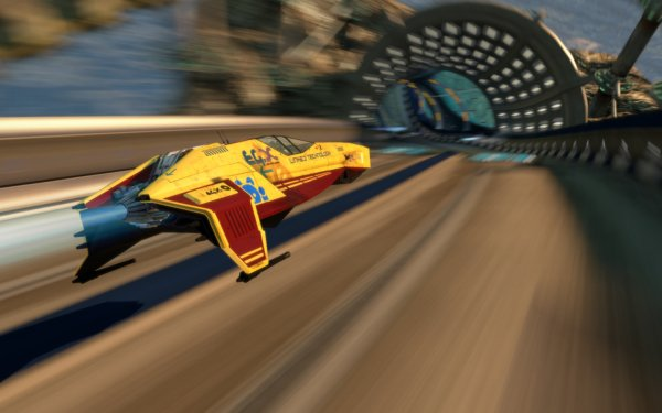 Video Game Wipeout HD Wallpaper | Background Image