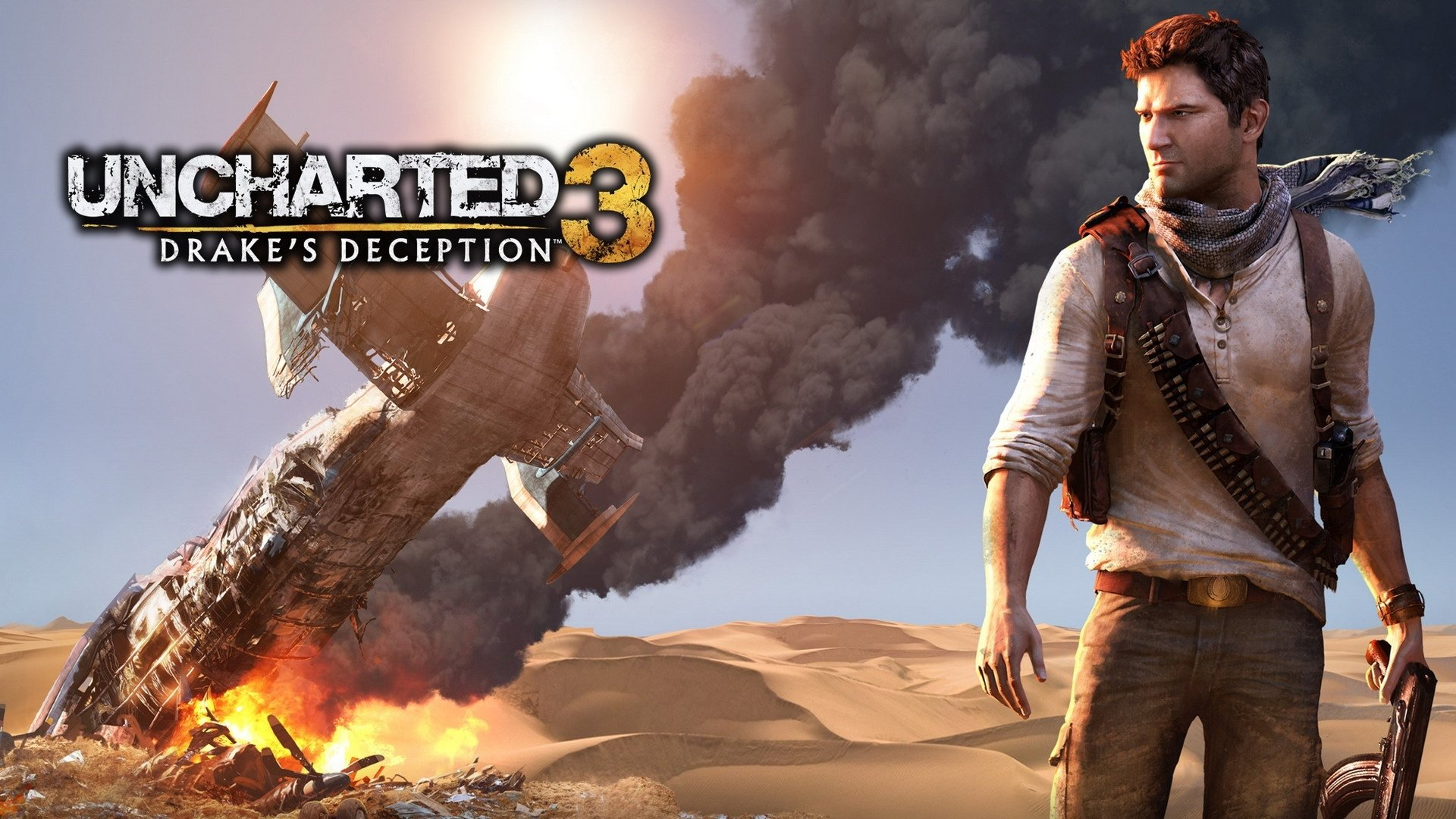Download Wallpaper 1440x2560 Uncharted 3 drakes deception, Smoke ...