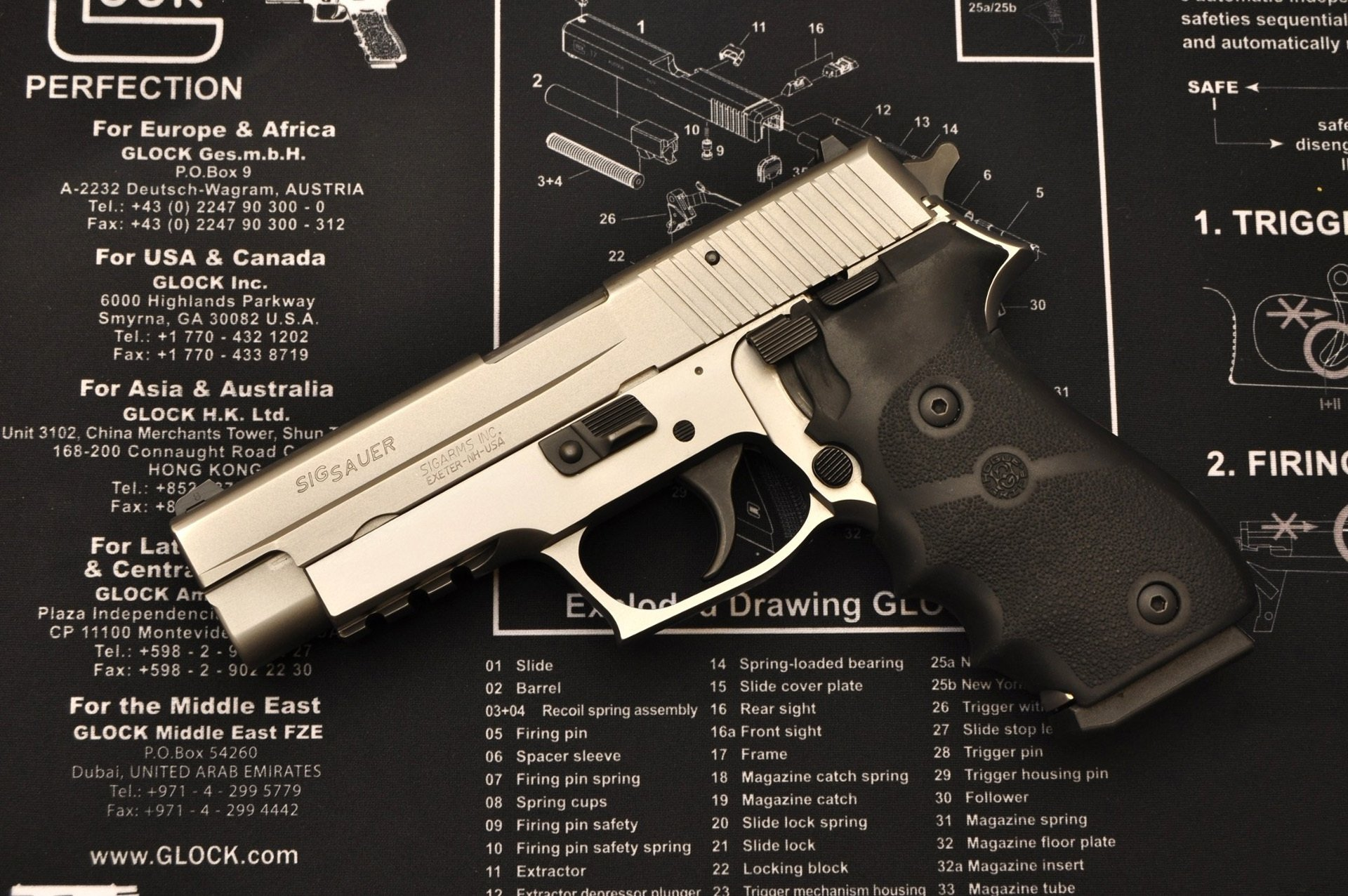 Sig Sauer Handgun HD Wallpaper