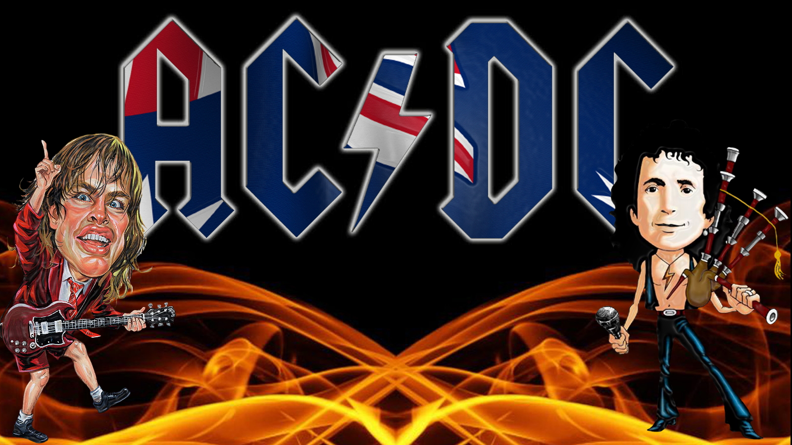 Ac Dc Wallpaper And Background Image 1600x900 Id 277142