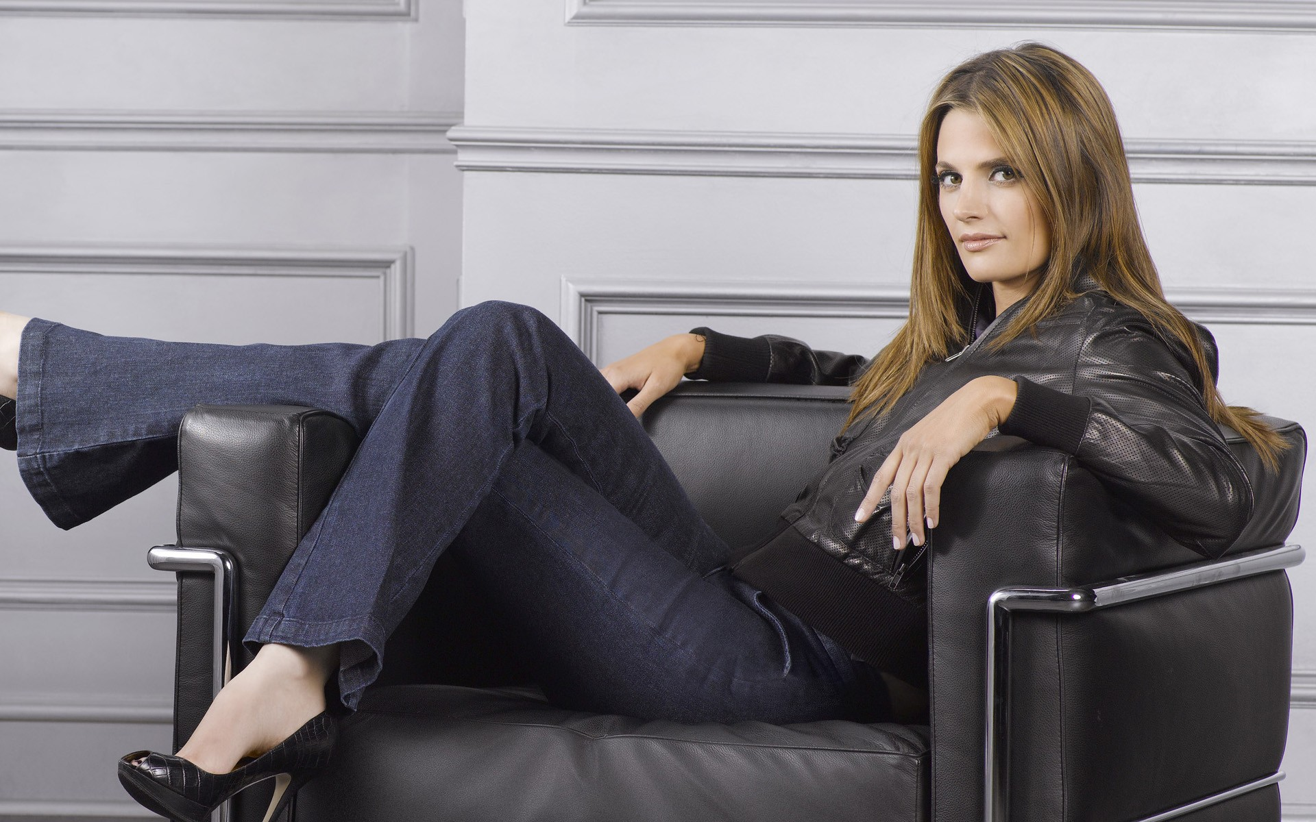 Stana Katic Full Hd Wallpaper And Background 1920x1200