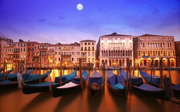Man Made City Cities Venice Grand Canal Italy HD Wallpaper | Background Image