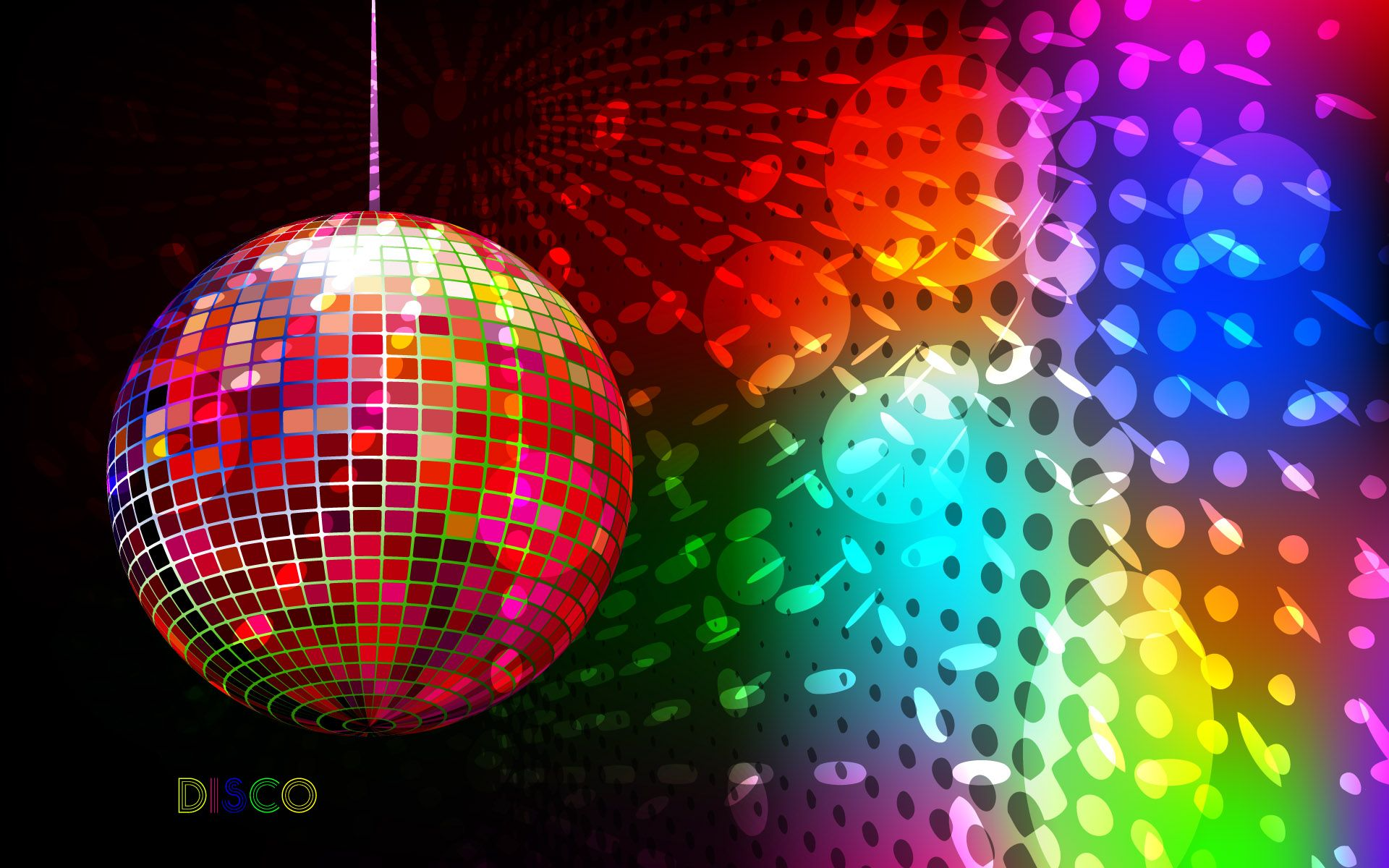 Disco Full HD Wallpaper And Background Image