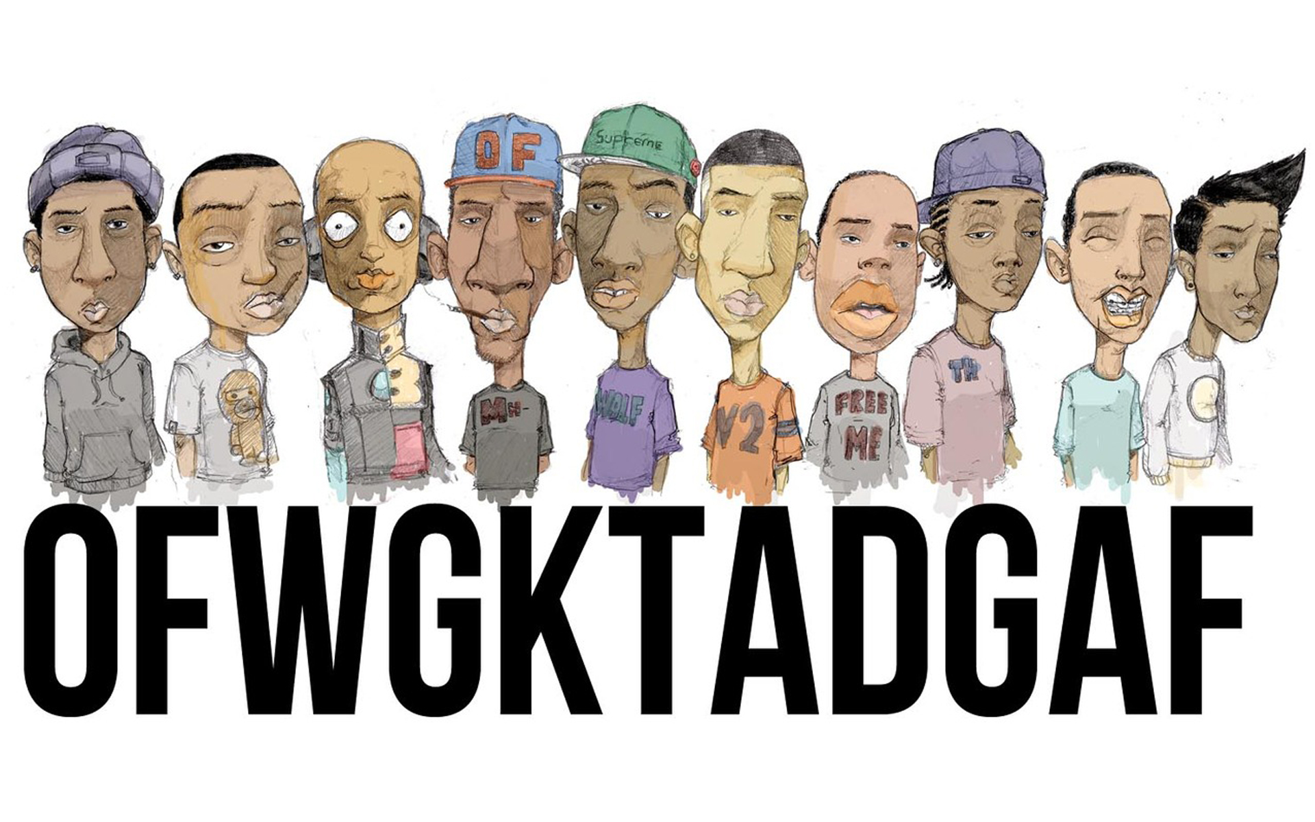 Group Of Wolf Odd Future Wallpaper Computer