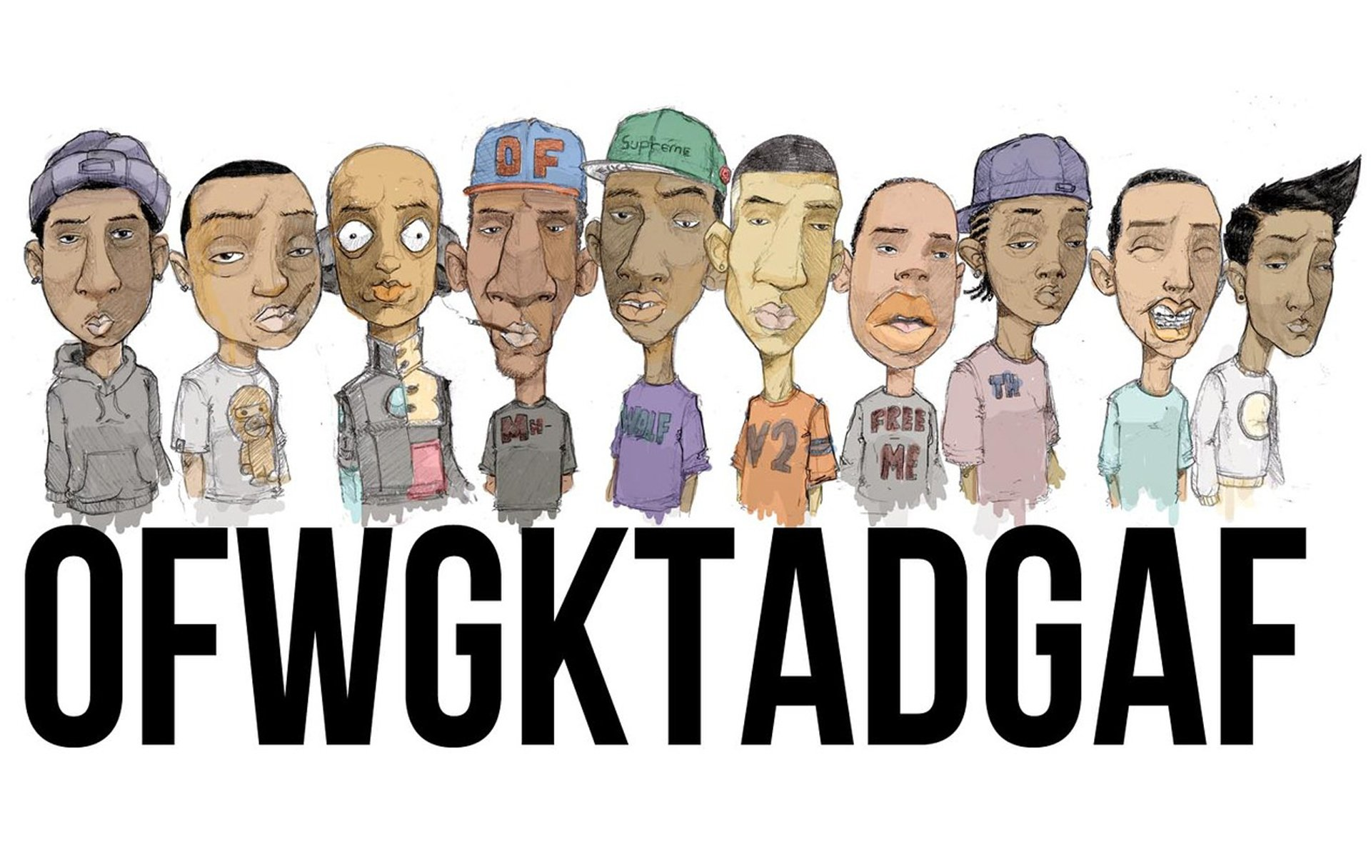 Odd Future HD Wallpaper