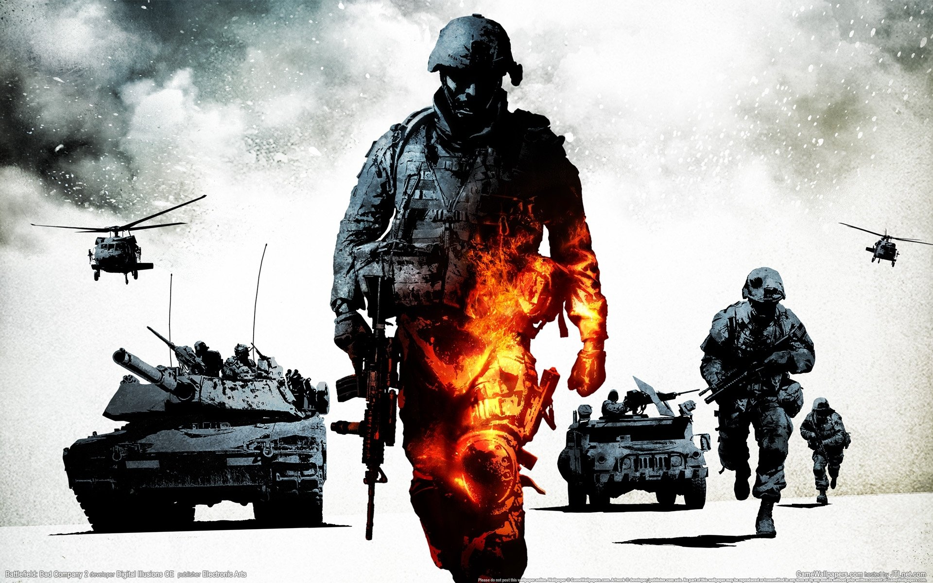 Battlefield Bad Company 2 Vietnam Wallpaper | Zellox