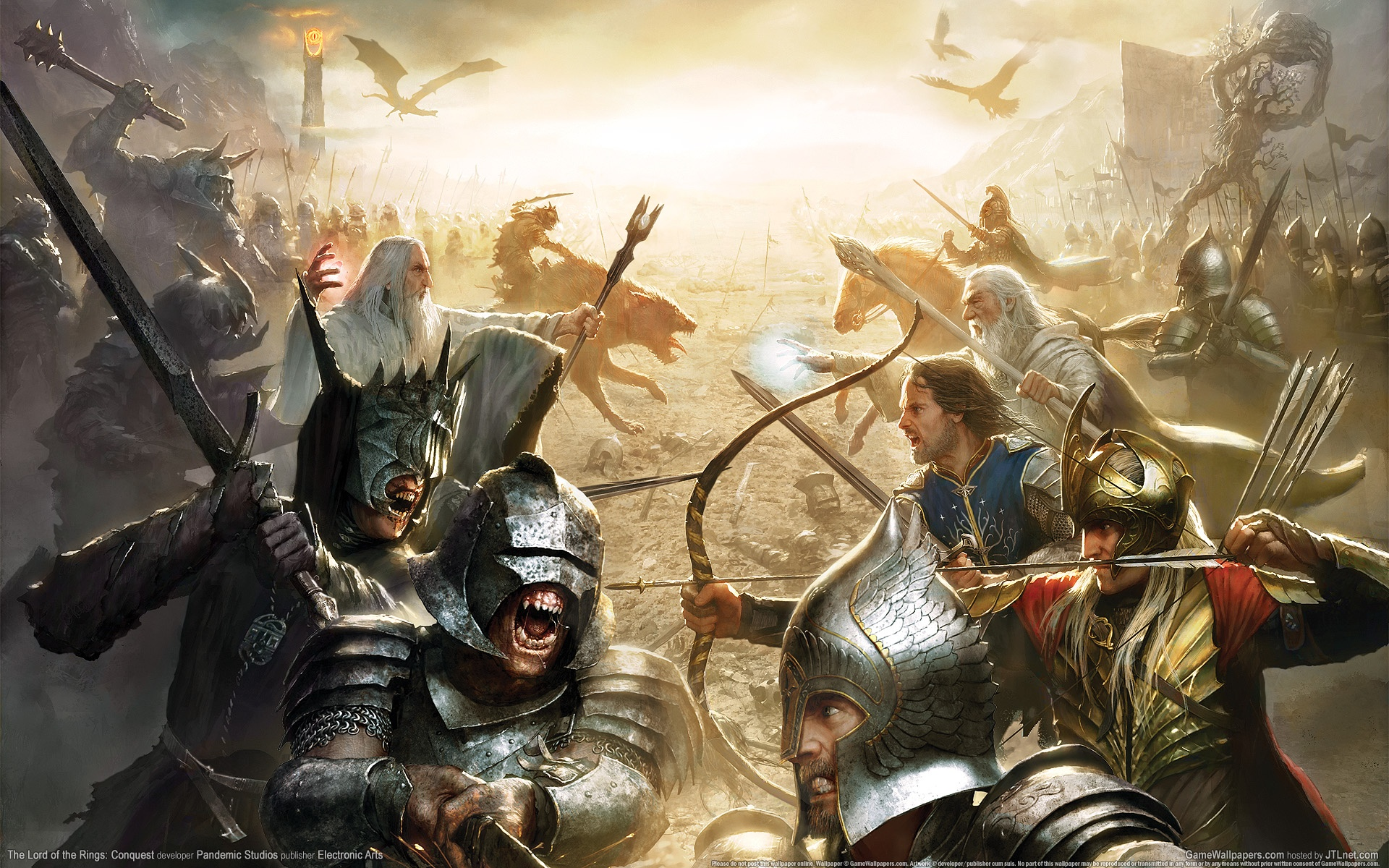 The Lord Of The Rings: Conquest Full HD Wallpaper and ...