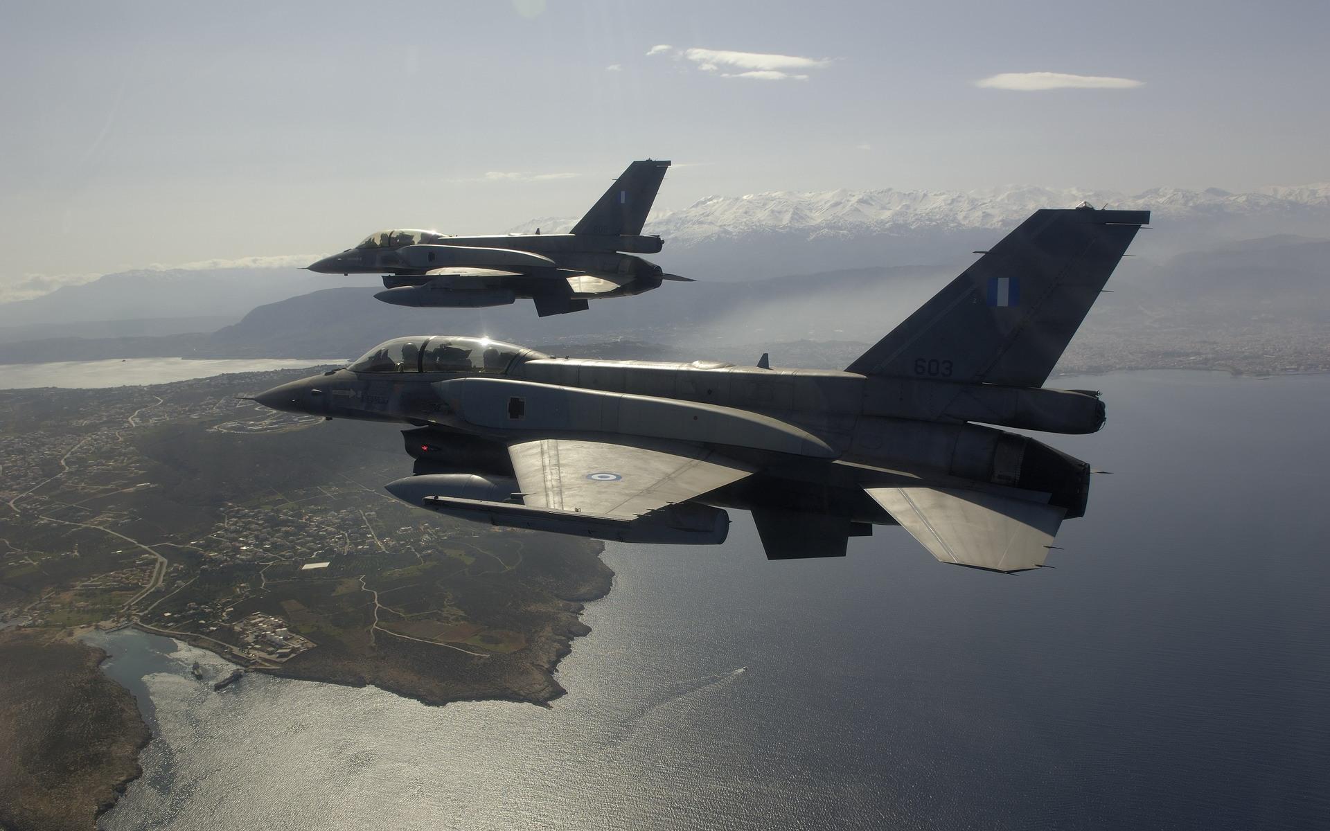 General Dynamics F16 Fighting Falcon Full HD Wallpaper - Aircraft ...