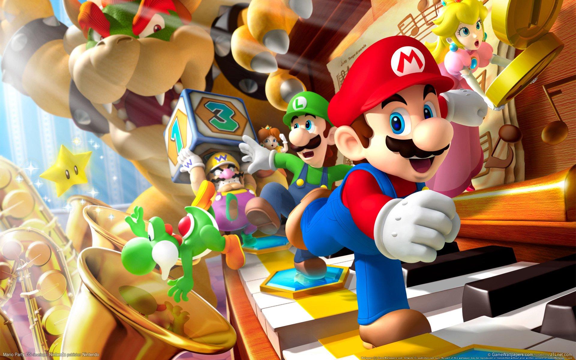 Video Game - Mario Party DS  Mario Wallpaper