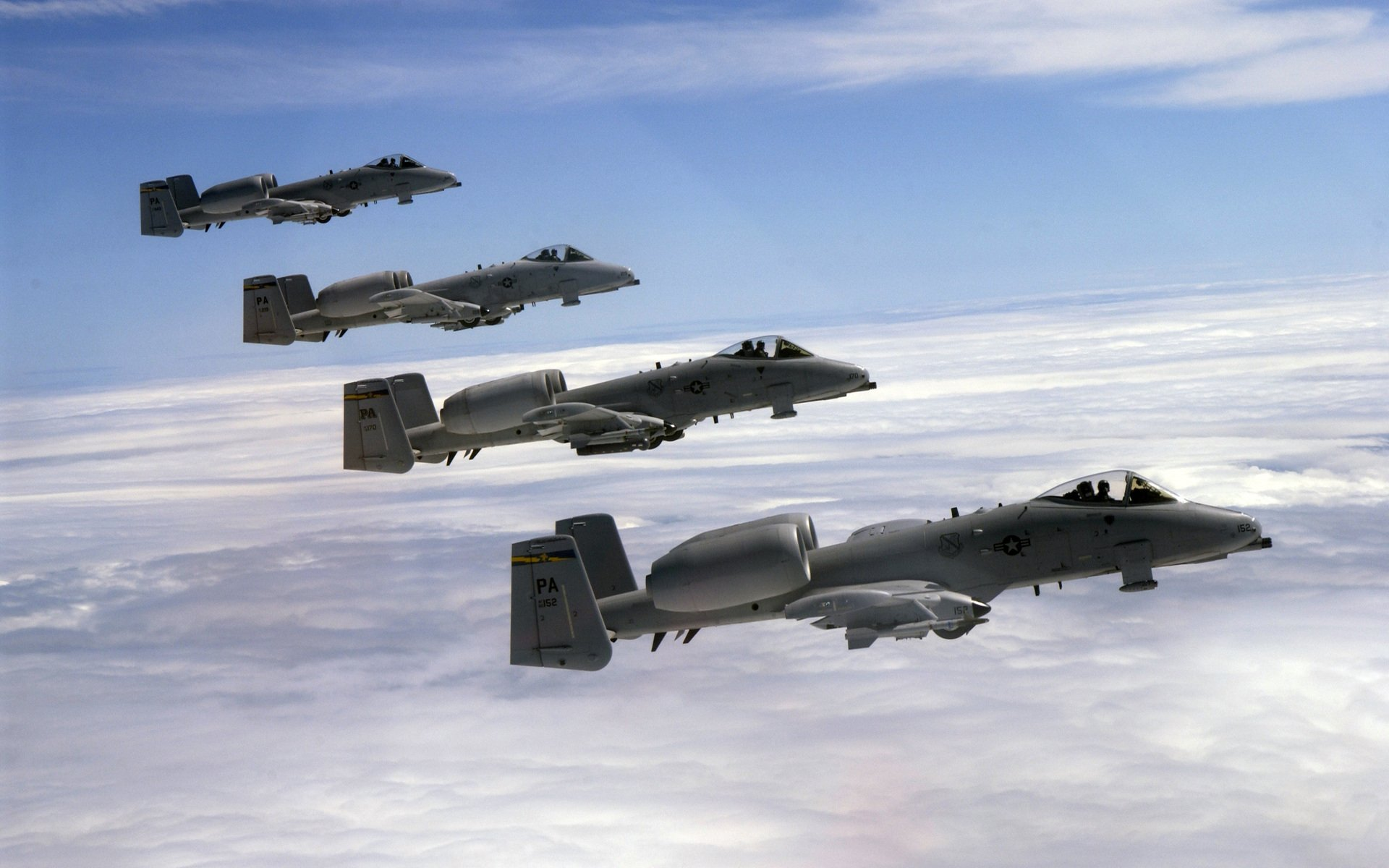 Military - Fairchild Republic A-10 Thunderbolt II  Warthog Wallpaper