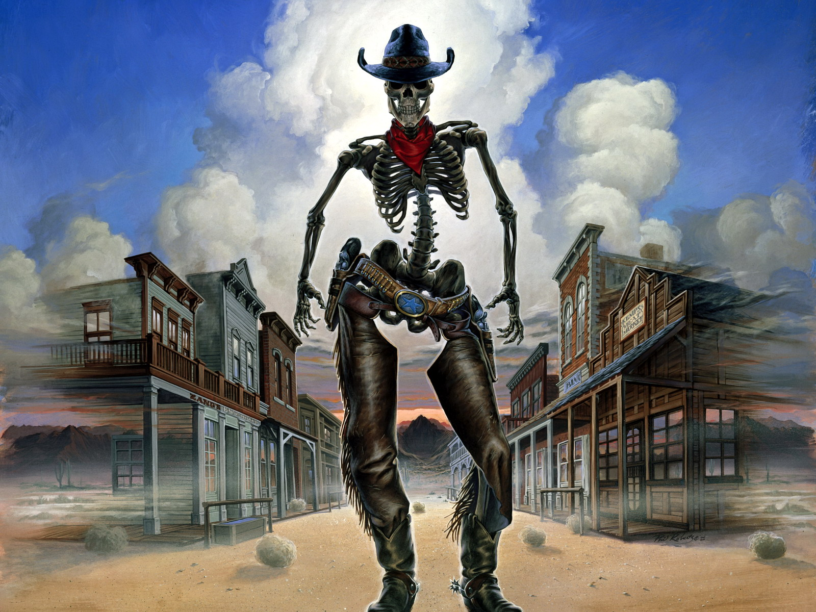 ghost town wallpaper and background image | 1600x1200 | id:281282